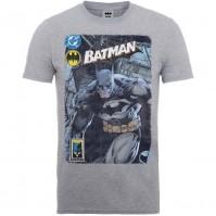 Mens T-shirt Grey Small DC Comics Batman Urban Legend Justice League Official