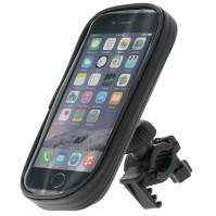 Waterproof Motorbike Bicycle iPhone 6 7 Holder Cover Handlebar Mount Smartphone