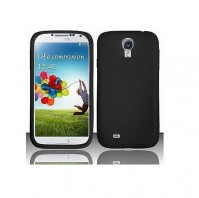 Samsung Galaxy S4 Case Black Soft Gel Cover And 1 x Screen Protector 1 x Cloth