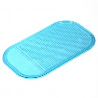 Blue In Car Dashboard Magic Grip Sticky Mat For Phones, Sunglasses, Keys