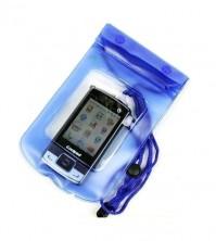 Blue Waterpoof Beach iPhone 3 4 5 Samsung Galaxy S3 S4 Digital Camera Bag Case