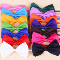 Various Colour Bow Ties Pet Dog Puppy Cat Kitten Bow Child Kids Accessories