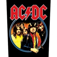 AC/DC Highway To Hell Official Sew On Back Patch Logo Badge Heavy Metal