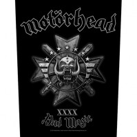 Motorhead Bad Magic Back Patch Sew On Official Badge Album Lemmy Band Rock