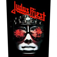 Judas Priest Hell Bent for Leather Back Patch Sew On Official Badge Album Band