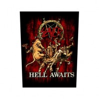 Slayer Hell Awaits Back Patch Sew On Official Badge Album Band Heavy Metal