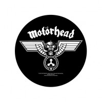 Motorhead Hammered Back Patch Round Back Patch Sew On Official Badge Band