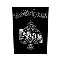 Motorhead Ace Of Spades Black Sew On Back Patch Badge Album Cover Official