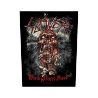 Slayer World Painted Blood Back Patch Sew On Official Badge Album Band