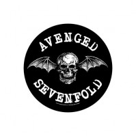 Avenged Sevenfold Death Bat Round Back Patch Sew On Official Badge Band Rock