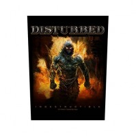 Disturbed Indestructible Back Patch Sew On Official Badge Album Band Rock