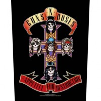 Guns N' Roses Back Patch Appetite For Destruction Sew On Official Badge Album