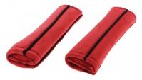 Red Car Seat Belt Protection Cover Shoulder Pad Harness Travel Comfort Comfy