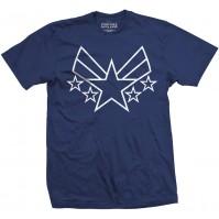 Marvel Comics Captain America Civil War Navy Blue T Shirt Large Mens Official