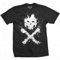 Marvel Captain America Civil War Crossbones Black T Shirt Medium Mens Official