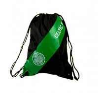 Celtic FC Football Club Black Green Gym Sports Bag Badge Crest Fan Official