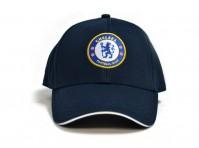 Chelsea FC Football Club Crest Badge Logo Navy Blue Baseball Cap Hat Official
