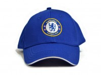 Chelsea FC Football Club Crest Badge Logo Royal Blue Baseball Cap Hat Official