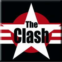 The Clash Metal Steel Fridge Magnet Stars And Stripes Album Fan Official