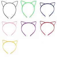 Cat Ears Head Band Headwear Hair Accessories Hairbands Party Birthday Halloween