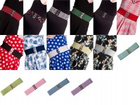 Various Hell Bunny Retro Elasticated Belts Plus Size Rockabilly Vintage Retro