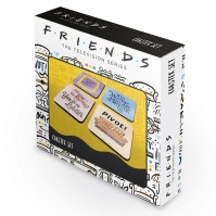 Friends TV Series Quotes Drinks Tea Coffee Coasters Set Of 4 Official Pivot