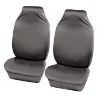 Sakura Front Seat Protectors Universal Grey 100% Polyester Tough Durable Car