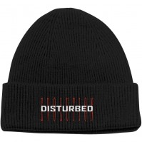 Disturbed Official Unisex Mens Adult Evolution Turn Up Beanie Ski Hat Rock