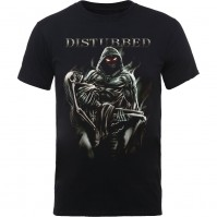 Disturbed Official Lost Souls Mens Black Short Sleeve T-Shirt Rock Band