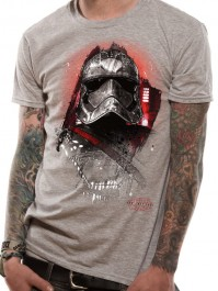 Star Wars The Last Jedi Captain Phasma Official Unisex Grey T-Shirt Mens Womens