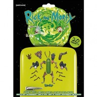 Rick and Morty Weaponize The Pickle Multicoloured 20 Piece Fridge Magnet Set Gift