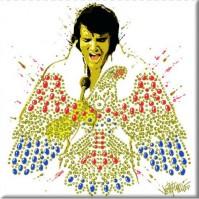 Elvis Presley Metal Steel Fridge Magnet American Eagle Album Fan Gift Official