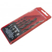 5 Piece Wood Working Drilling Bit Set Carpenter Home DIY Tool Storage Pouch
