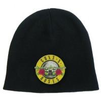 Guns N Roses Band Logo Black Beanie Hat Official Mens Womens Cap Album Gift