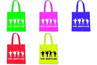Various Colour The Beatles Help! Semaphore Tote Shopping Bag Eco Friendly Official