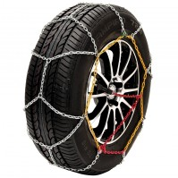Pair Of Car Snow Chains Tyre Grip Husky 9mm Emergency Ice Traction KN100