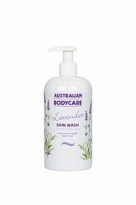 Australian Bodycare Skin Wash 500 ml Tea Tree Oil Mild Gentle Moisturising Lavender