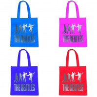 Various Colour The Beatles Jump Tote Shopping Bag Eco Friendly Official Fan Gift