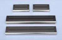 Vauxhall Astra Mk6 I J 2010+ Chrome 4 / 5 Door Sill Protectors Kick Plates