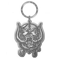 Lemmy Motorhead Warpig Silver Metal Keychain Keyring Fan Gift Idea Official