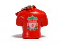 Liverpool LFC Football Kit Shirt Stress Relief Keyring Bag Charm Crest Official