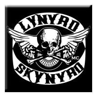 Lynyrd Skynyrd Biker Patch Logo Fridge Magnet Album Metal Band Fan Official