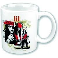Little Lil Wayne Photo Montage White Coffee Mug Boxed Official Gift Album Cover