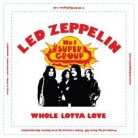 Led Zeppelin Whole Lotta Love Fridge Magnet Album Metal Steel Band Logo Official