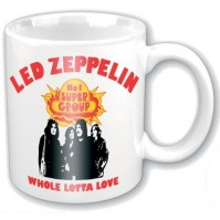 Led Zeppelin Whole Lotta Love White Boxed Coffee Gift Mug Cup Fan Album Cover