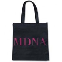 Madonna Pink Black Tote Eco Shopping Bag For Life Gift Official Product CD LP