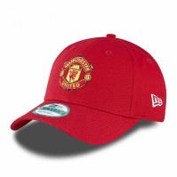 Manchester Man Utd United New Era Red Snapback Baseball Cap Adjustable Official