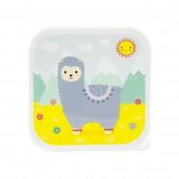 Little Llama Cute Pastel Lunch Box Kids Childrens Baby Storage Accessories