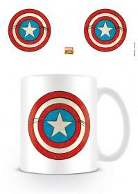Captain America Shield Mug Coffee Tea Cup Official Ceramic  Film TV Gift Marvel