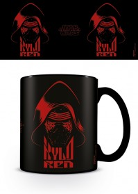 Star Wars Episode VII Kylo Ren Black Red Disney Official Mug Tea Coffee